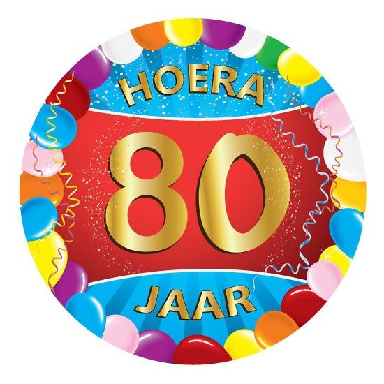 80 Jaar Verjaardag Party Viltjes Winkel